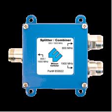 Diplexer/Combinador Doble Banda 700-960 MHz / 1710-2155 MHz, con 0.5 dB de pérdida.