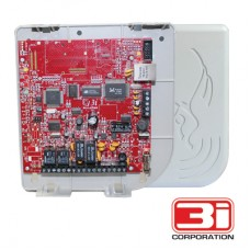 Interface TCP/IP universal para panel de alarma con formato contac id compatible con el software Zeus