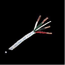 Cable Calibre 18, 4 Conductores, 305 Metros, Color Blanco, Hecho en México