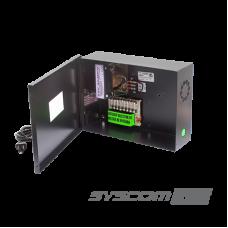 Fuente de Poder para CCTV de 8 salidas a 24 Vca. 4 Amp.