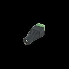 Adaptador Tipo Jack de 3.5 mm Hembra Polarizado de 12 Vcd.