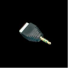 Adaptador para Audio y Video de 35 mm con terminal atornillable.