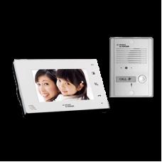 Kit de TV Portero manos libres con pantalla LCD a color de 7
