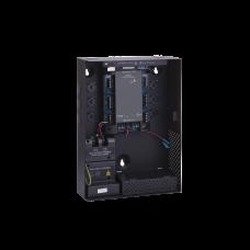 Controlador para 2 Lectoras, incluye Gabinete en Negro y Fuente