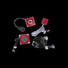 KIT de Accesorios para el modelo PA2F, incluye cámara, micrófono, parlante y botón, múltiples aplicaciones