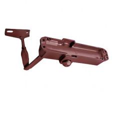 Cierrapuertas Fuerza 4/ Para puertas de hasta 1100 mm de Ancho/ Color Chocolate Oscuro /Certificación UL/ Ideal Puertas Madera