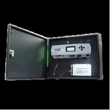 Controlador de Acceso / 4 Puertas / Biometría Integrada / 3,000 Huellas / Compatible con Sistemas de Elevadores (10 Pisos) / Incluye Gabinete y Fuente de Alimentación 12VCD/5A