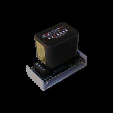 Protección modular 2 pares, campo reemplazable, con base , circuito de 12 V