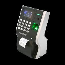Lector Biométrico Multimedia para Tiempo y Asistencia, Impresora Integrada y Soporte para 3000 Usuarios.