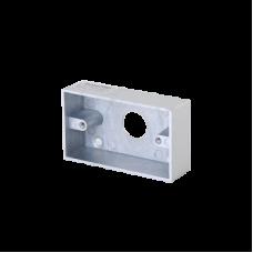 Caja cromada para instalación del botón PRO800