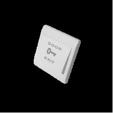 Botón de petición de salida normalmente abierto en plástico.