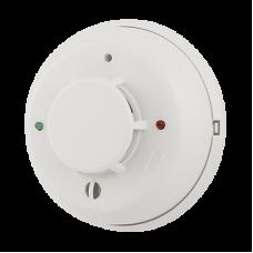 Detector Dual Humo/Temperatura a 4 hilos con Sirena