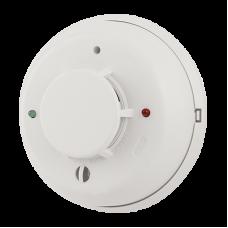 Detector Dual Humo/Temperatura de 4 hilos con Relevador y Sirena