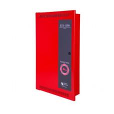 Amplificador Inteligente de 125 Watts para Sistema de Evacuación por Voz, con Fuente de Alimentación y Respaldo de Batería