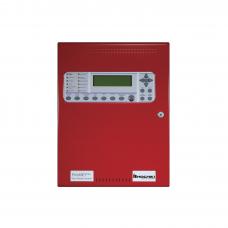 Panel de Detección de Incendio, Análogo Direccionable, 127 puntos, Expandible, Gabinete Rojo, Nuevo Diseńo