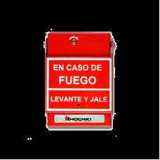 Estación de Jalón Convencional de Doble Acción, Color Rojo