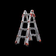 La escalera multi-posiciones mas versátil, ligera y robusta del mercado
