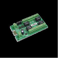 Modulo de 4 salidas de relevador tipo C para paneles Crow Serie RUNNER