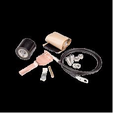 """Kits para Aterrizar Cables con Llave para Ajusta (Onda Elíptica) Cable 1 1/4"""", Longitud 52""""."""