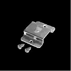 Clip de metal para micrófono de radios móviles.