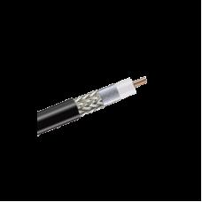 Cable Coaxial Andrew tipo RG-8/U de Malla (LMR400), Conductor Central de Aluminio Sólido de 2.74 mm con Baño de Cobre (Cal.10), 95% Blindaje Malla de Cobre Estañado + 100% Cinta Duobond II y Dieléctrico en Espuma de PE.