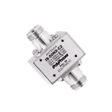 Protector Coaxial con ceja lateral (125 - 1000 MHz). (IS-50NX-C2).
