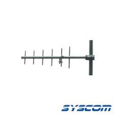 Antena Base UHF, Direccional, Rango de Frecuencia 450 - 470 MHz.