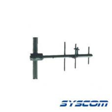 Antena Base UHF, Direccional, Rango de Frecuencia 490 - 520 MHz.