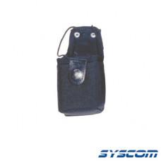 Funda en Nylon para cinto, con correa y broche de presión, para radios P110/GP300 (universal).