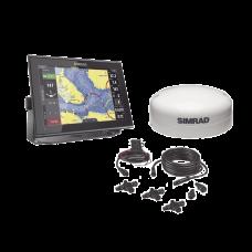 Kit de pantalla multifuncional GO12 con kit NMEA2000 y antena GS25