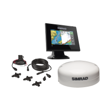Kit de pantalla multifuncional GO5 con kit NMEA2000 y antena GS25