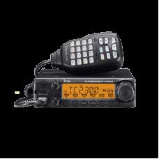 Radio Móvil para aficionados, 65W, Rx:136-174MHz Tx: 144-148MHz, 207 memorias, 4.5W de potencia de audio.