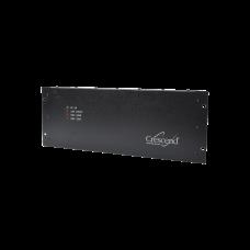 Amplificador 136-174 MHz, 2-5 W. de Entrada/50 Watt de Salida, 10 MHz, 13 Amp. 13.8 Vcd, N Hembra.