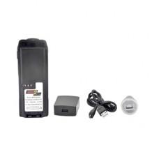 Batería con cargador USB integrado de Li-Ion 3000 mAh    para radios Motorola APX6000/7000/8000/SRX2200