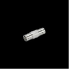 Adaptador barril de BNC hembra a BNC hembra, 50 Ohms, 32 mm