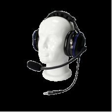 Auriculares de diadema de uso rudo sobre la cabeza para serie Motorola GP300/P1225/PRO3150/MAG ONE/EP450/DEP450
