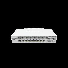 Cloud Core Router, CPU 9 Núcleos, 7 Puertos Gigabit Ethernet, 1 Combo TP/SFP, 1 GB Memoria, Enfriamiento Pasivo