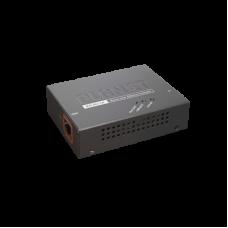 Extensor 100m PoE 802.3at de 1 Puerto 10/100/1000 Mbps.