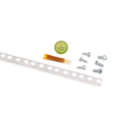 Barra de tierra de 2m para rack estándar de 19in