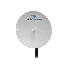 Antena Direccional, Dimensiones (3 ft), Ganancia 33 dBi, 5.25-5.85 GHz, 2 Conectores N-hembra, Incluye montaje.