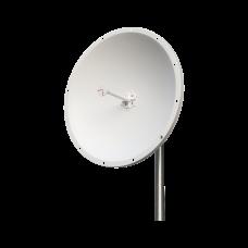 Antena Direccional, 4.8 - 6.5 GHz, Ganancia 28 dBi, Conectores N-Macho, Dimensiones (.6 m), Incluye jumpers y montaje