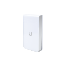 Access Point UniFI doble banda cobertura 180° MIMO 2x2 diseño placa de pared con dos puertos adicionales, hasta 100 usuarios Wi-Fi