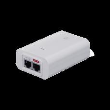 Adaptador PoE Ubiquiti de 48 VDC, 0.32 A puerto Gigabit, ideal para equipos UniFi