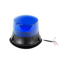Burbuja LED giratoria color azul, 9 LEDs, montaje permanente