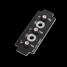 Tablilla de reemplazo con 3 LED Ámbar para XLL1084