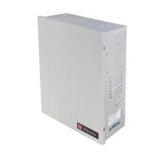 Fuente de poder ALTRONIX de 12 Vcd @ 10 Amper, para 8 cámaras , con capacidad de respaldo; voltaje de entrada : 115 Vca