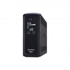 UPS 1350VA / 810W, Pantalla LCD inteligente, regulador de voltaje (AVR), 8 contactos, Tel/Red/Coax, No-Break con regulador, 3 años de garantía