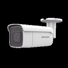Bala IP 8 Megapixel (4K) / 50 mts IR EXIR / Lente Mot. 2.8 a 12 mm / Ultra Baja Iluminación IP67 / IK10 / Videoanaliticos Integrados / WDR 120dB / Audio y Alarmas / PoE+