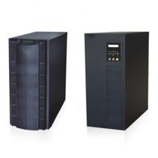 Inversor / Cargador para sistemas tipo isla de 192VCD/120VCA de 5000W onda sinusoidal pura con controlador MPPT. Administre una fuente fotovoltaica, la red eléctrica y recargue su banco de baterías y su consumo sin problemas.