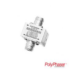Protector RF Coaxial Para 1.5 a 700 Mhz Con Conectores N Hembra en Ambos Lados Con Ceja Lateral, 10 Años de Garantía